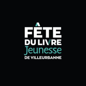 Fête du livre jeunesse de villeurbanne - logo